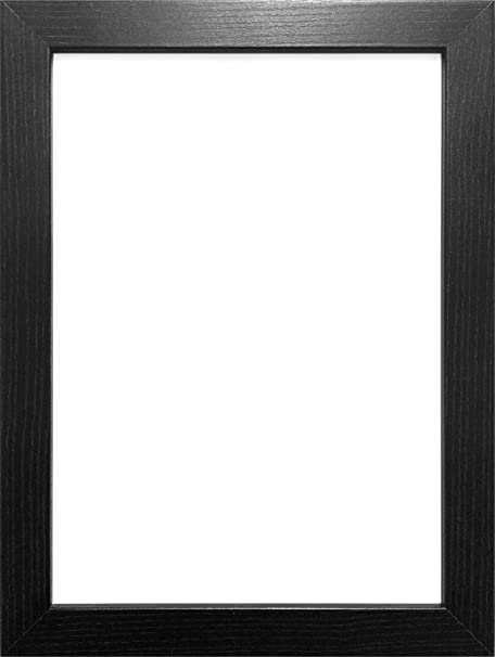 28X20 BLACK COLOUR MODERN BOX FRAMES WOOD FINISH PHOTO PICTURE ...