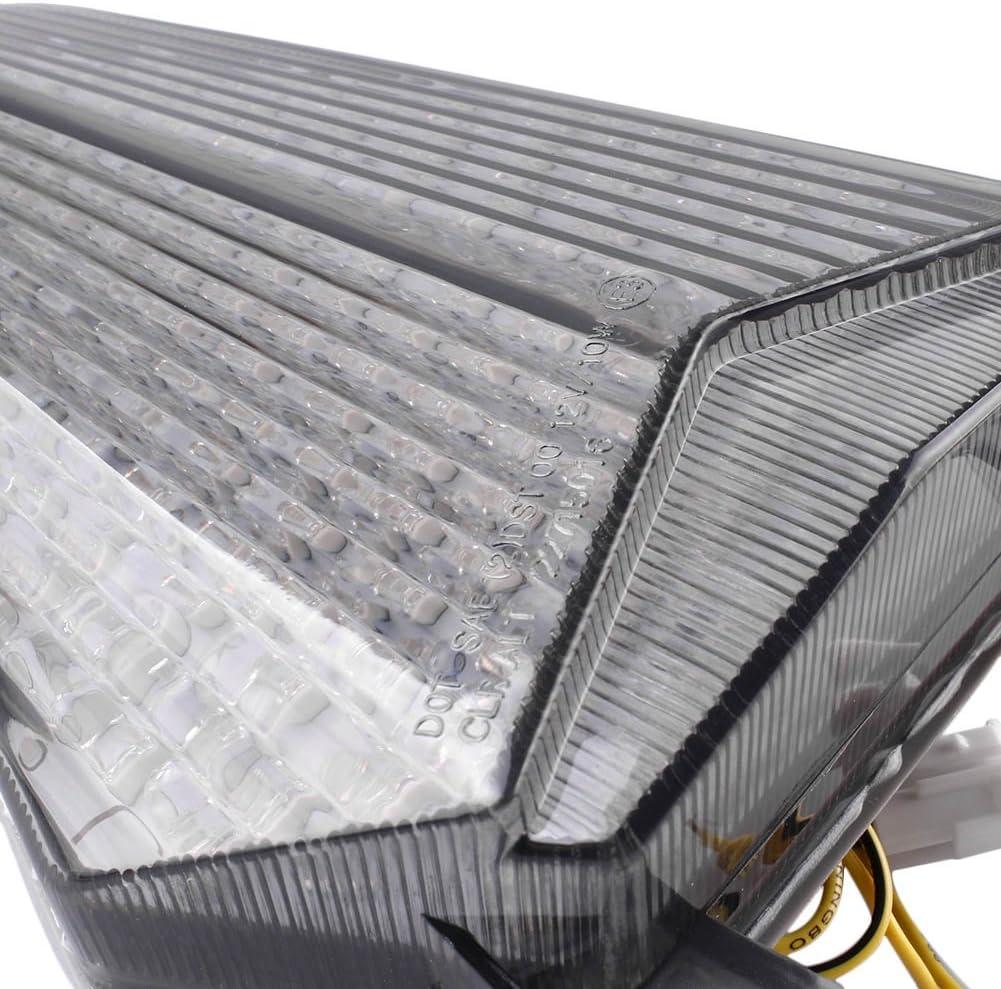GZYF Feu arri/ère LED avec Clignotants pour YZF R6 2006 2007