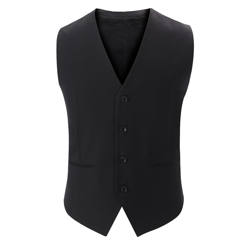 Männer - Anzug, Weste, männer - Anzug, Weste, Jugend, britische Anzug, Weste,schwarz,170   m