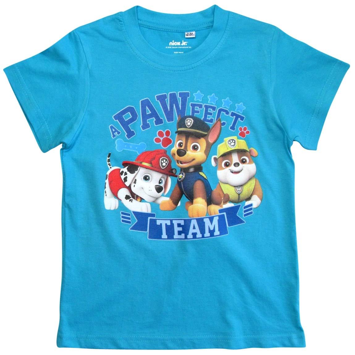 Paw Patrol Helfer auf Vier Pfoten T-Shirt Jungen Kurz