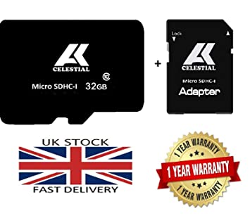 Tarjeta de memoria flash TF de 32 GB Micro SD SDHC-I Clase 10 80 MB/