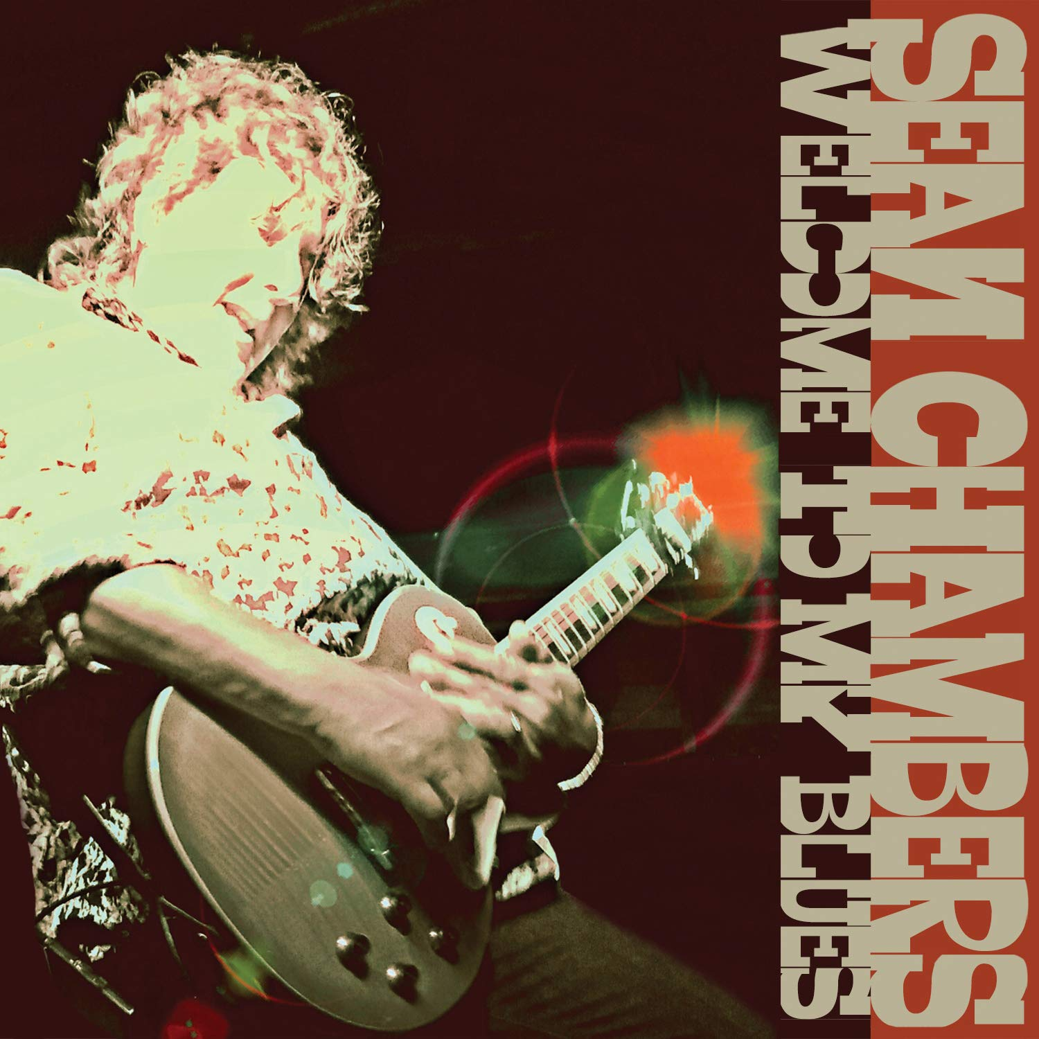 CD : Sean Chambers - Welcome To My Blues (CD)