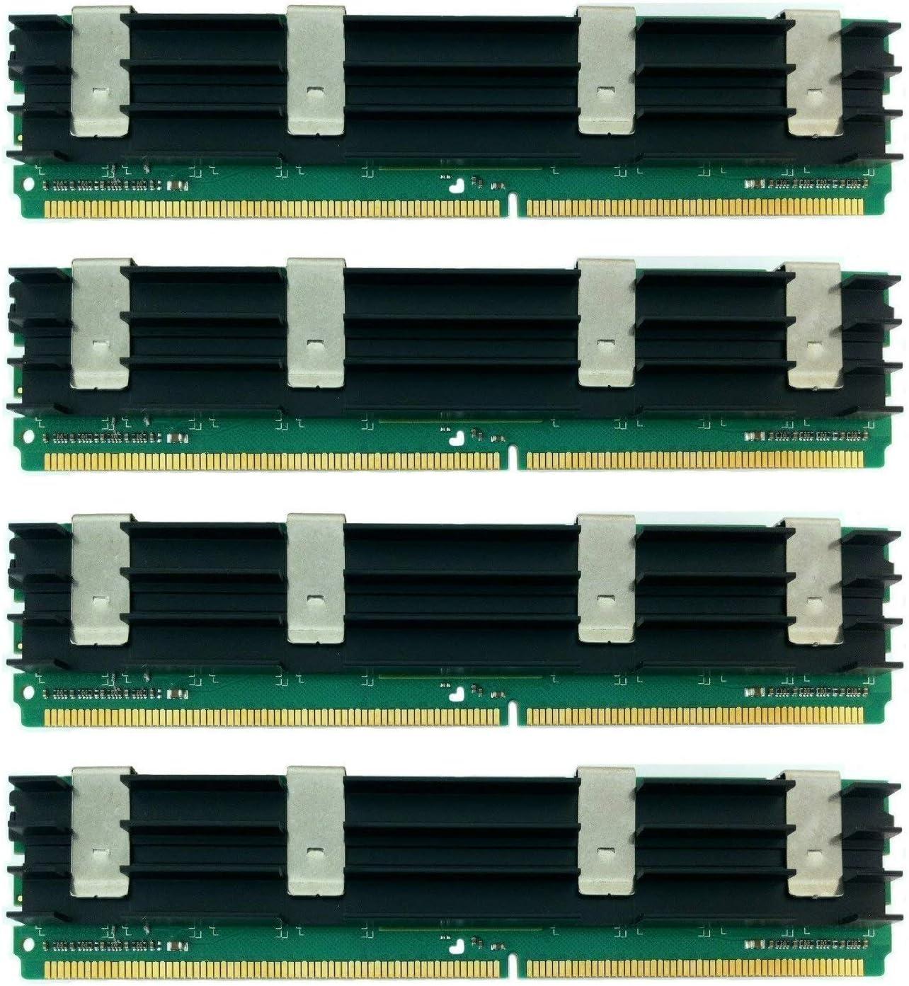MemoryMasters 16GB DDR2-800 FB-DIMM Fully Buffered PC3-6400 DDR2 800Mhz ECC Kit for Apple Compatible Mac Pro - Model Id 3,1 - (4X 4GB)