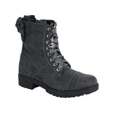 By Taille Haute Daim Rangers Femme Style 41 Shoes S34 Grey rcxTnr
