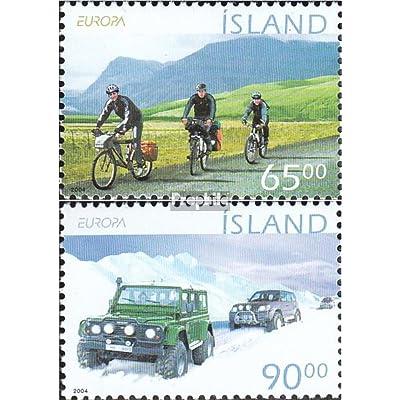 Islande 1066-1067 (complète.Edition.) 2004 vacances (Timbres pour les collectionneurs)