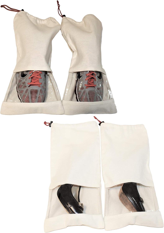 CoolStuff Travel Shoe Bags,Crystal Waterdrop On Window Drawstring Backpack Hiking Climbing Gym Bag,Large Big Durable Reusable Polyester Footwear Protection