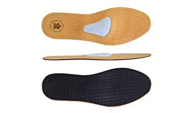 Amazoncom Orthotic Leather Shoe Insoles With Metatarsal Arch