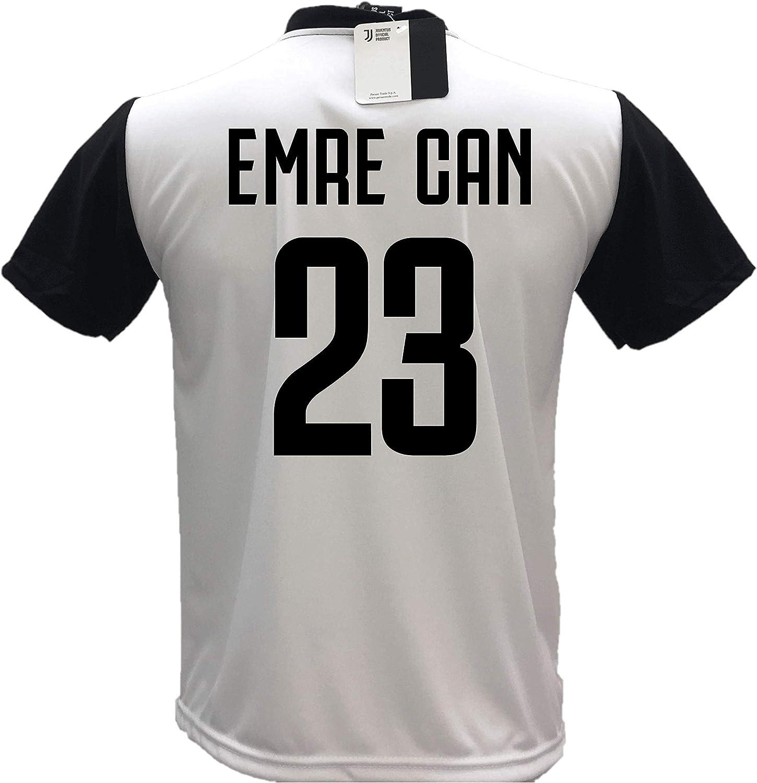 Camiseta de fútbol Juventus Emre Can 23 réplica autorizada 2018 ...