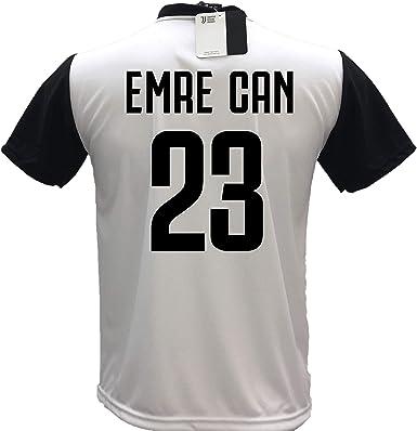 Camiseta De Futbol Juventus Emre Can 23 Replica Autorizada 2018 2019 Para Nino Tallas 2 4 6 8 10 12 Adulto S M L Xl 2 Anos Amazon Es Ropa Y Accesorios
