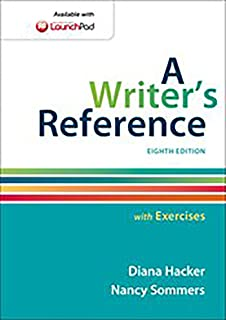 A Writer's Reference with Exercises: Diana Hacker, Nancy