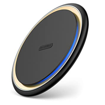 Desertwest 15W Qi Certified Wireless Charging Pad for Samsung Galaxy S9/S8/LG V30+ Mobile Accessories