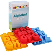 Silicone Alphabet Trays Mold by Traytastic! - Large 1.5 Tall Letters