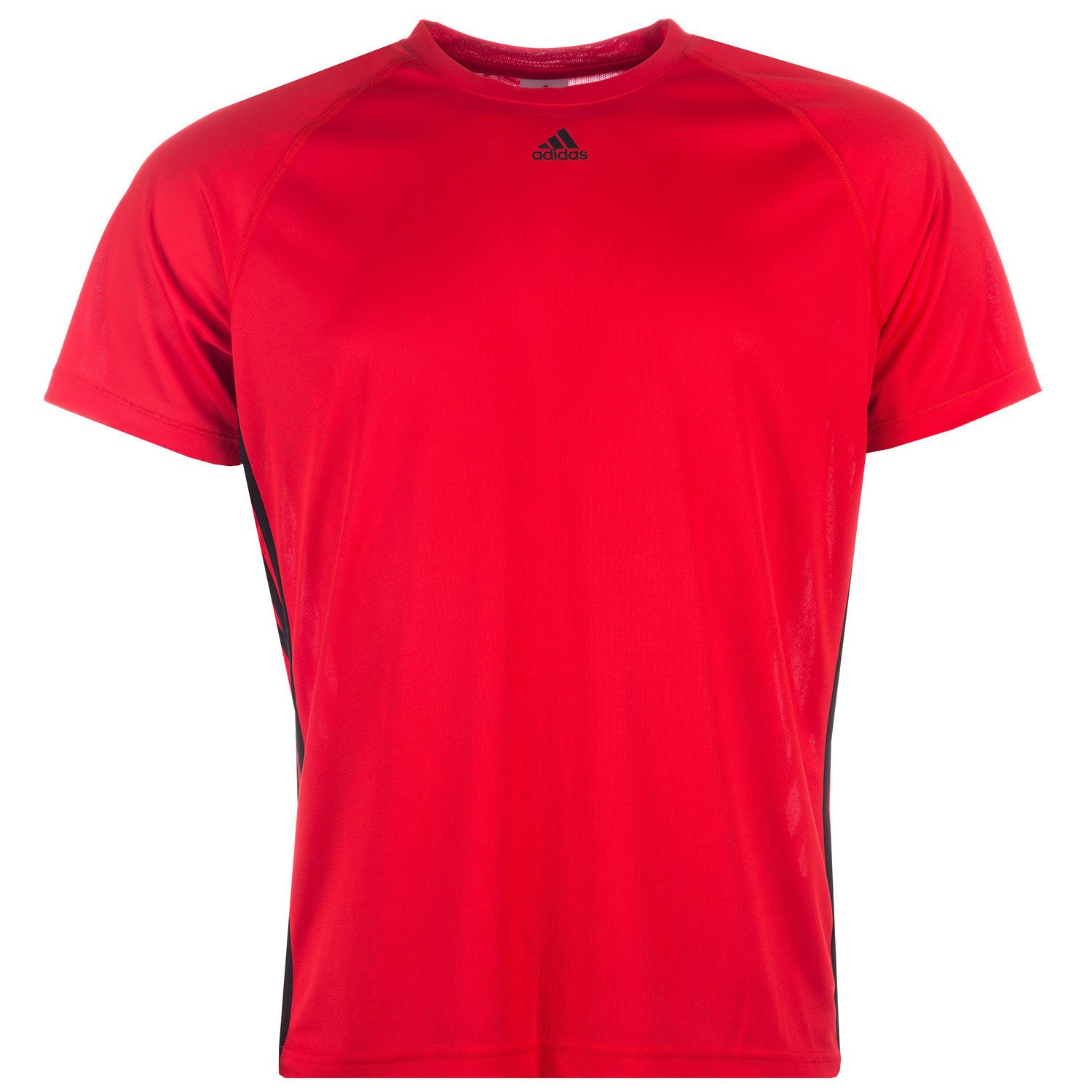 Adidas T-Shirt Clima Bande de Base 3 XS Rouge Noir  Amazon.fr  Sports et  Loisirs d0a59114b2b0