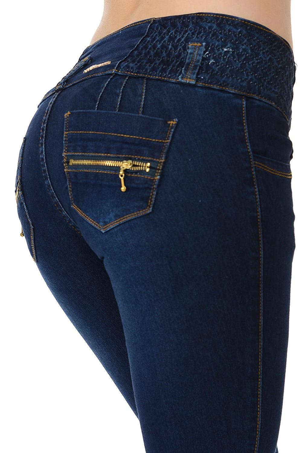 Levanta Cola Butt Lift Push Up Skinny /· Style A5183 M.Michel Womens Jeans Colombian Design