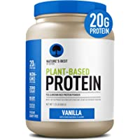 Nature's Best Plant Based Vegan Protein Powder by Isopure - Organic Keto Friendly, Low Carb, Gluten Free, 20g Protein…