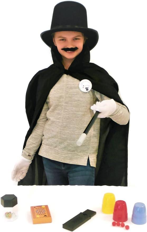 Terra - Kit de Disfraz de Mago para niños: Amazon.es: Hogar