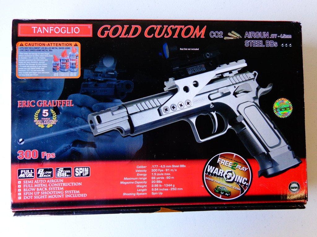 Tanfoglio Gold Custom CO2 Blowback BB Pistol 35804