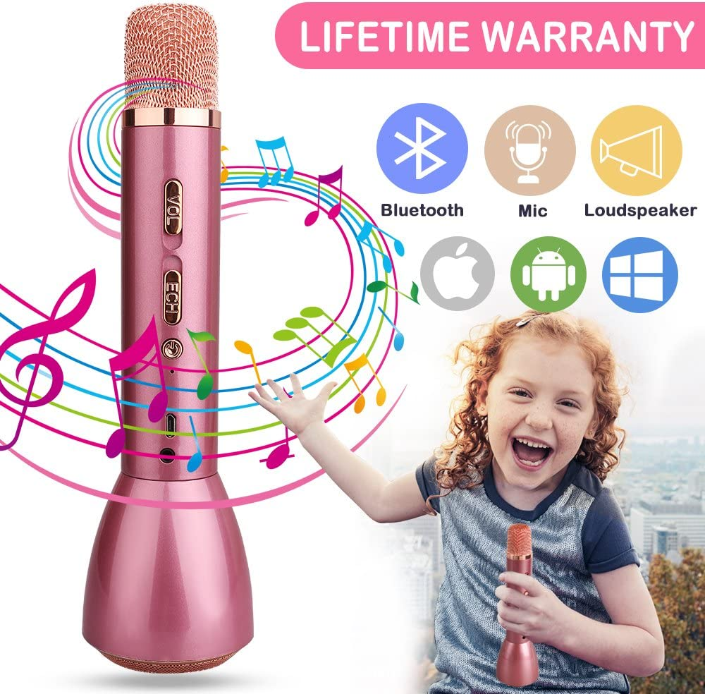 Cordless Child Karaoke Microphone