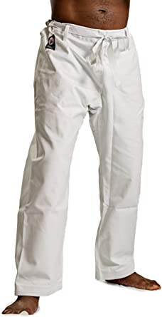 Trad Waist ProForce 12oz 100/% Cotton Heavyweight Karate Pants Black White