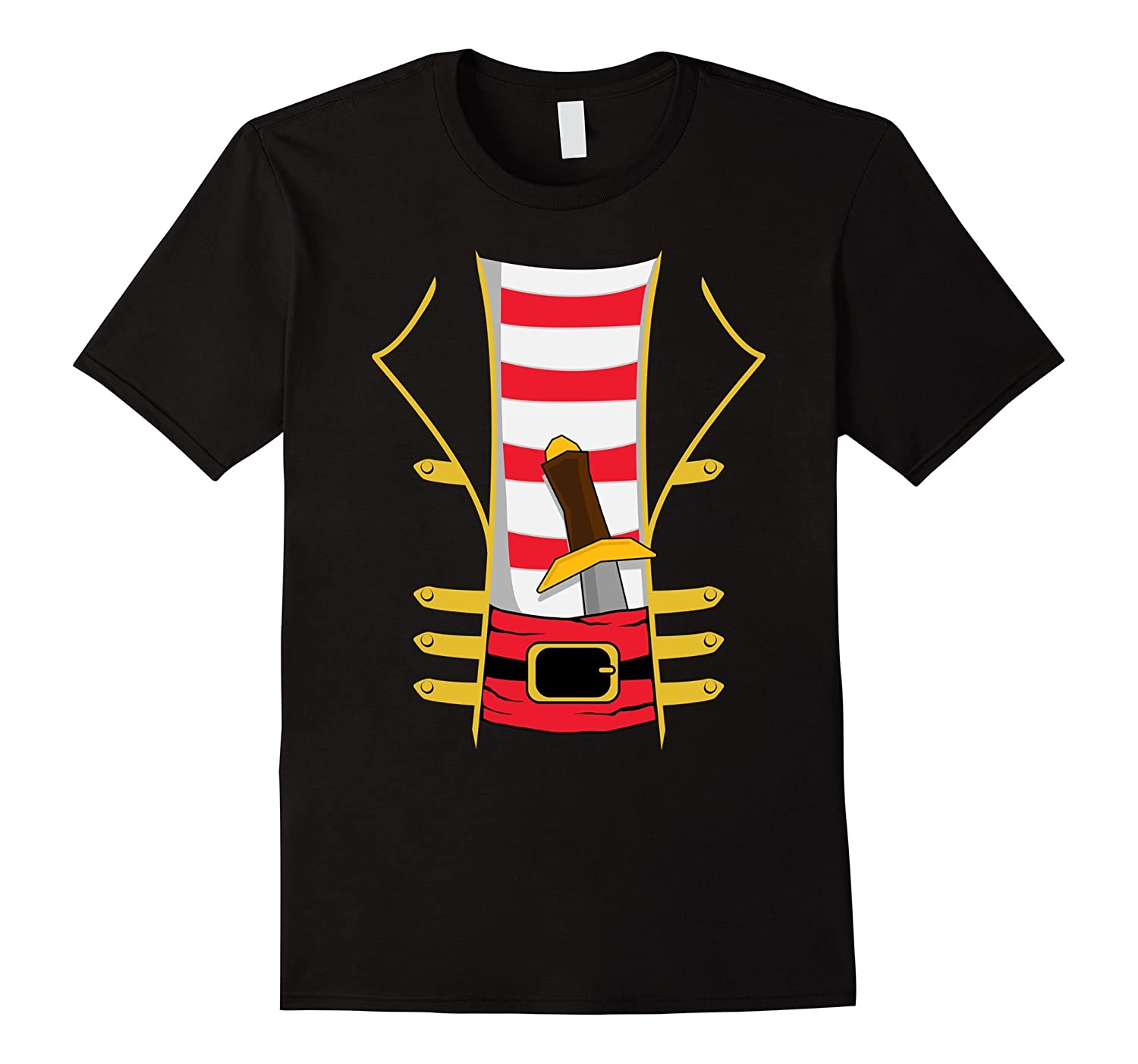 Pirate with Sword Halloween Costume T-shirt