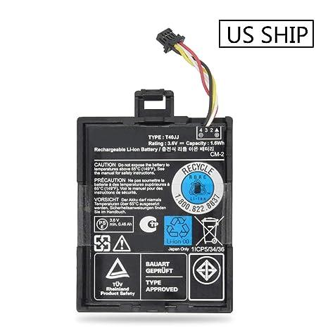 Amazon com: Emaks T40JJ Raid Controller Battery 70K80 H132V for Dell