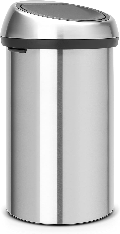 Brabantia Touch Bin de remplacement Couvercle-En Acier Mat Soft Touch fermeture 50-60 L