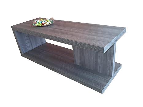 Tavolino Salotto Rovere Grigio.Ve Ca Italy Tavolino Basso Salotto Moderno In Legno Rovere Grigio