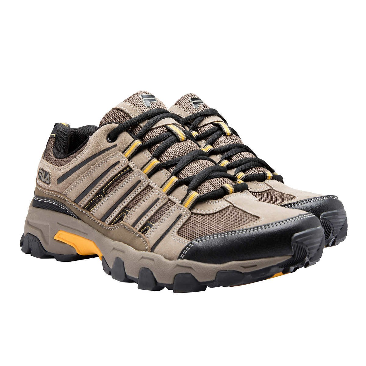 Fila Mens Day Hiker Trail Shoes (Brown