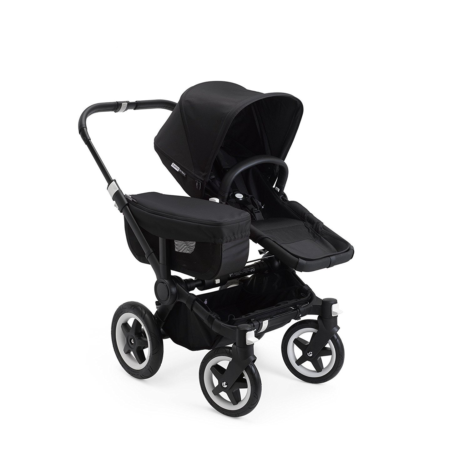 Bugaboo Donkey2 Complete Mono Stroller, the Most Spacious Foldable Stroller with the Option to Expand to a Double (Black)