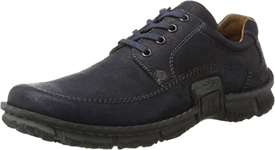 TALLA 43 EU. Josef Seibel SMU-William, Zapatos de Cordones Derby Hombre