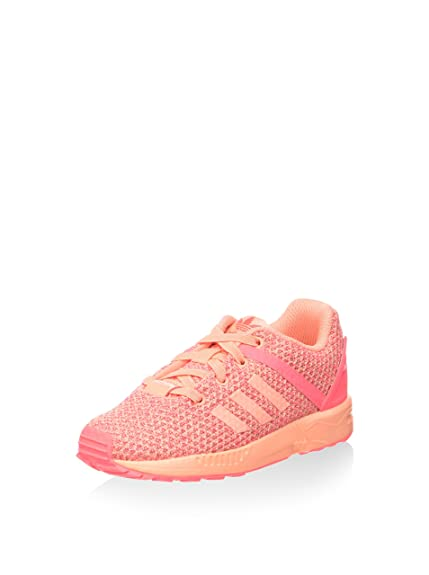 9d1fb1e7cc4e3 adidas Unisex Kids  Zx Flux Split Gymnastics Shoes Pink Size  5.5K UK Child
