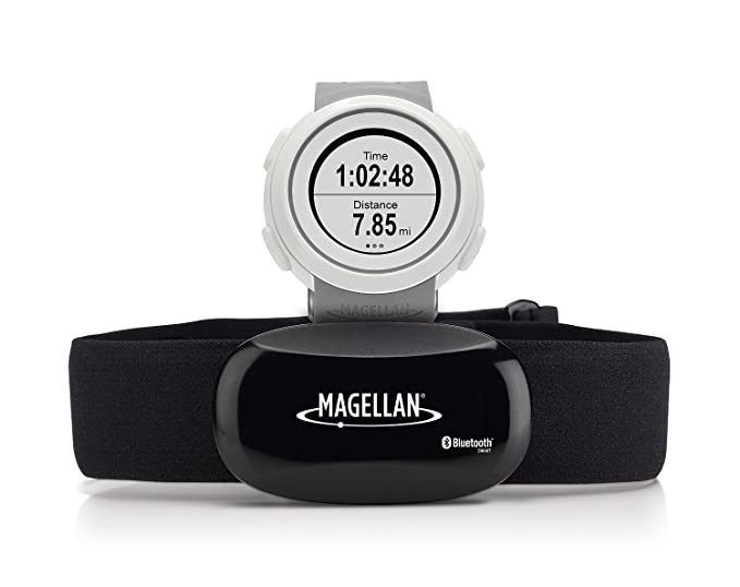 Magellan TW0103SGHNA Echo Smart Sports Watch with Heart Rate Monitor-Bluetooth Smart (Gray)