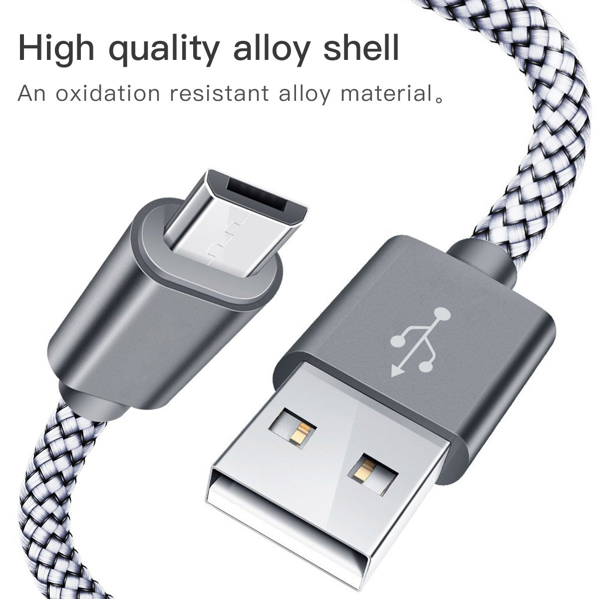 PRO OTG Cable Works for BlackBerry Z10 Right Angle Cable Connects You to Any Compatible USB Device with MicroUSB