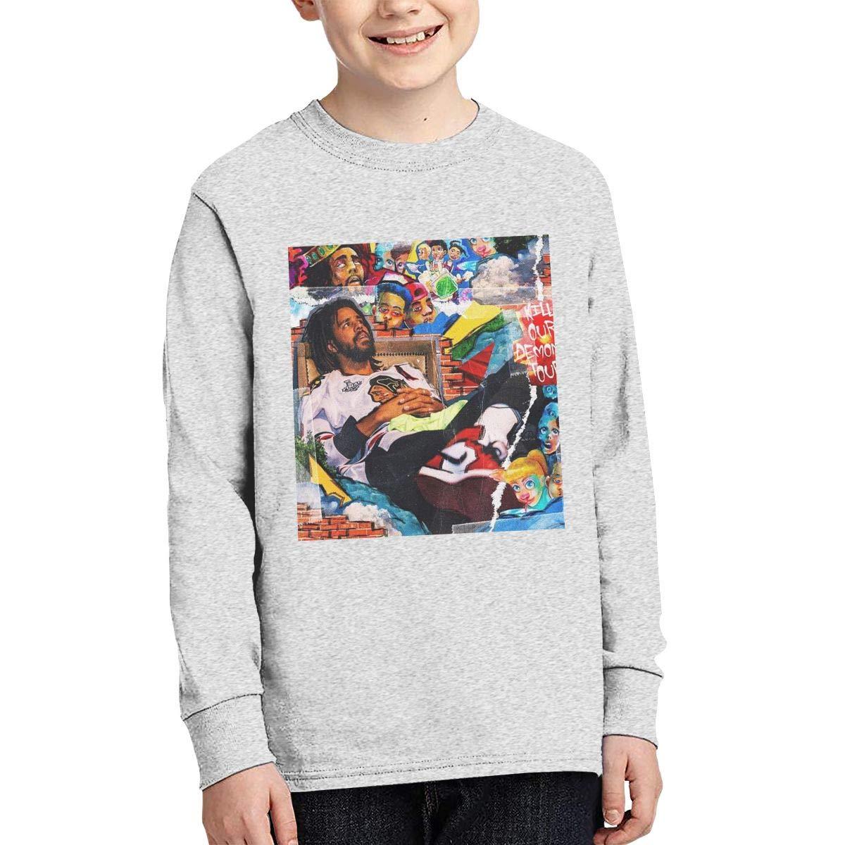 Youth J.-Cole Long Sleeves Shirt Boys Girls