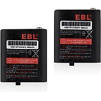 EBL 3.6V 1000mAh Two-Way Radio Rechargeable Battery for Motorola 53615 m53615 KEBT-071-A KEBT-071-B KEBT-071-C KEBT-071…