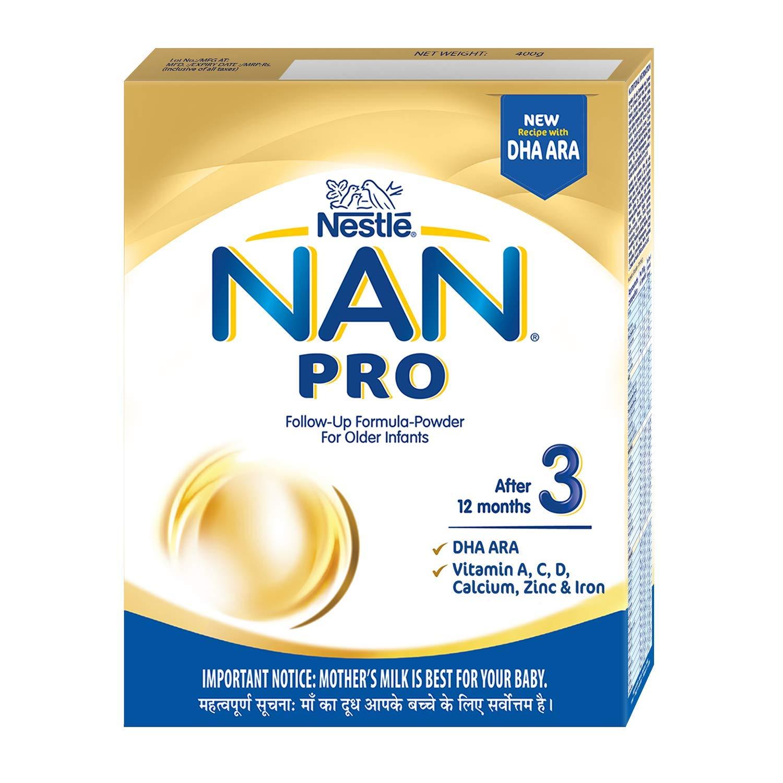 NAN PRO 3 Follow-Up Formula-Powder 400g Refill pack