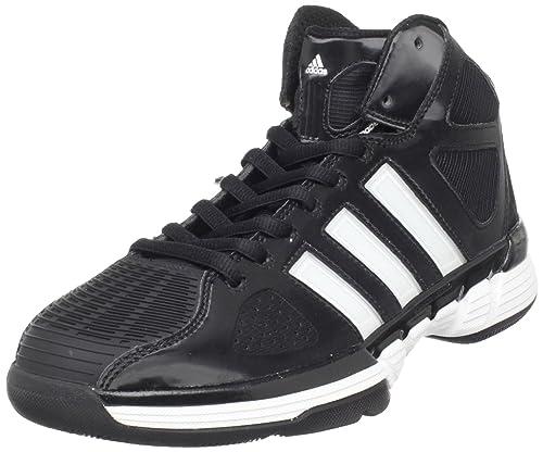 best service 4a8ae 3faf9 adidas Women s Pro Model Zero W Basketball Shoe,Black Running  White Metallic Silver