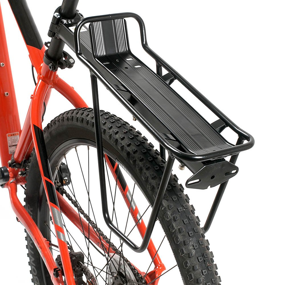 Lixada MTB Bike Bicycle Carrier Rack Seat Post Rear Shelf Aluminum Alloy Quick Removal and Installation