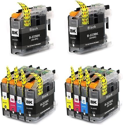 Bergsan - Cartuchos de impresora compatibles con Brother LC223 ...