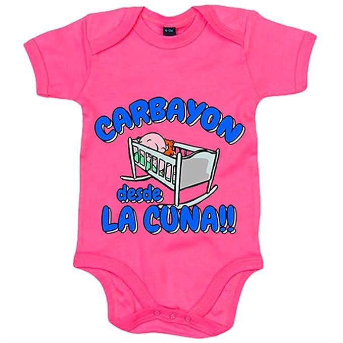 Body bebé Carbayón desde la cuna Oviedo fútbol - Azul Royal ...