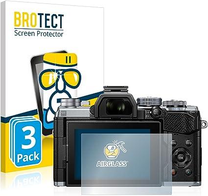3x protector de pantalla para E-M10 Mark Olympus OM-D Película de Cristal Templado III