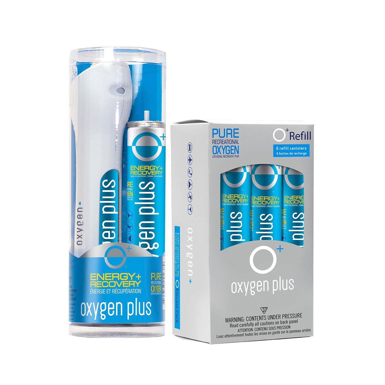 Oxygen Plus Starter Refill Pack: O+ Elevate Pack & 6 O+ Refills