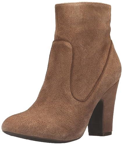Anne Klein Women's Bayrose Ankle Bootie, Camel, ...