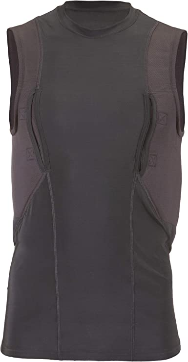 5.11 Tactical Sleeveless Holster Shirt, Poly/Spandex Blend, Moisture-Wicking Fabric, Style 40107