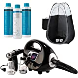 Naked Sun Fascination Spray Tan Machine Kit with St. Tropez Professional Sunless Tanning Solutions with Disposable Spa…