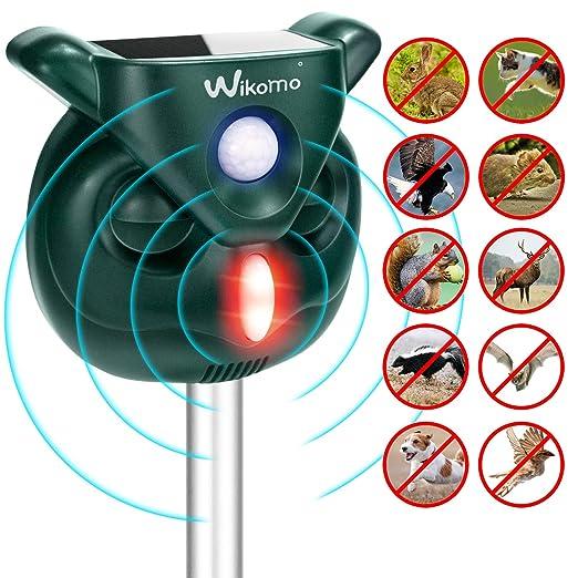 Wikomo AngLink Version 2019 Ahuyentador Solar para Gatos ...