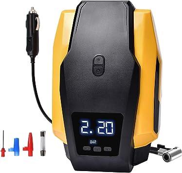 Compresor Aire Coche Portatil 12V 150PSI Inflador Neumaticos de ...