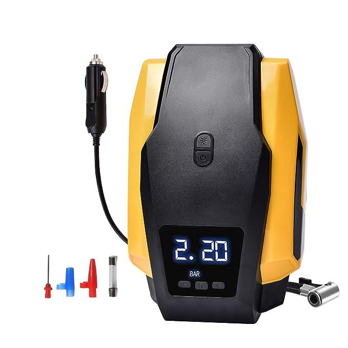 26 opinioni per Ideal_Swan Compressore Aria Portatile Auto, Gonfiatore per Pneumatici Digitale