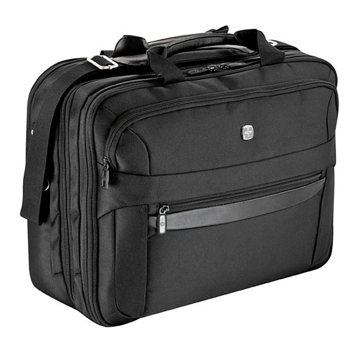 Wenger RV-Businesstasche mit 3 Fächern, Laptopfach 17 Schwarz 2160504