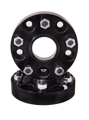 Rugged Ridge 15201.05 Black Anodized Wheel Spacer Pair